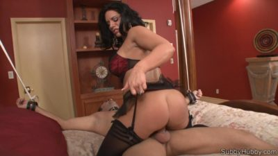 Bella Reese and her subby hubby sex control